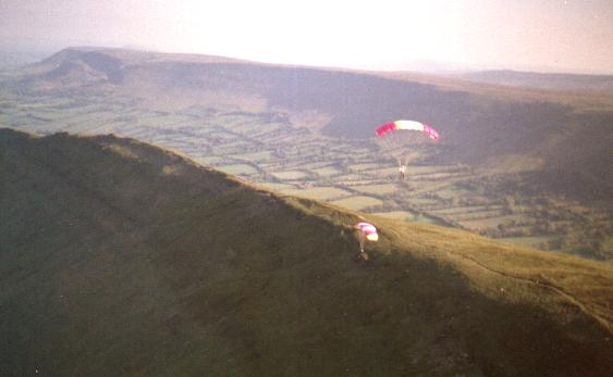 ancient looking paragliders